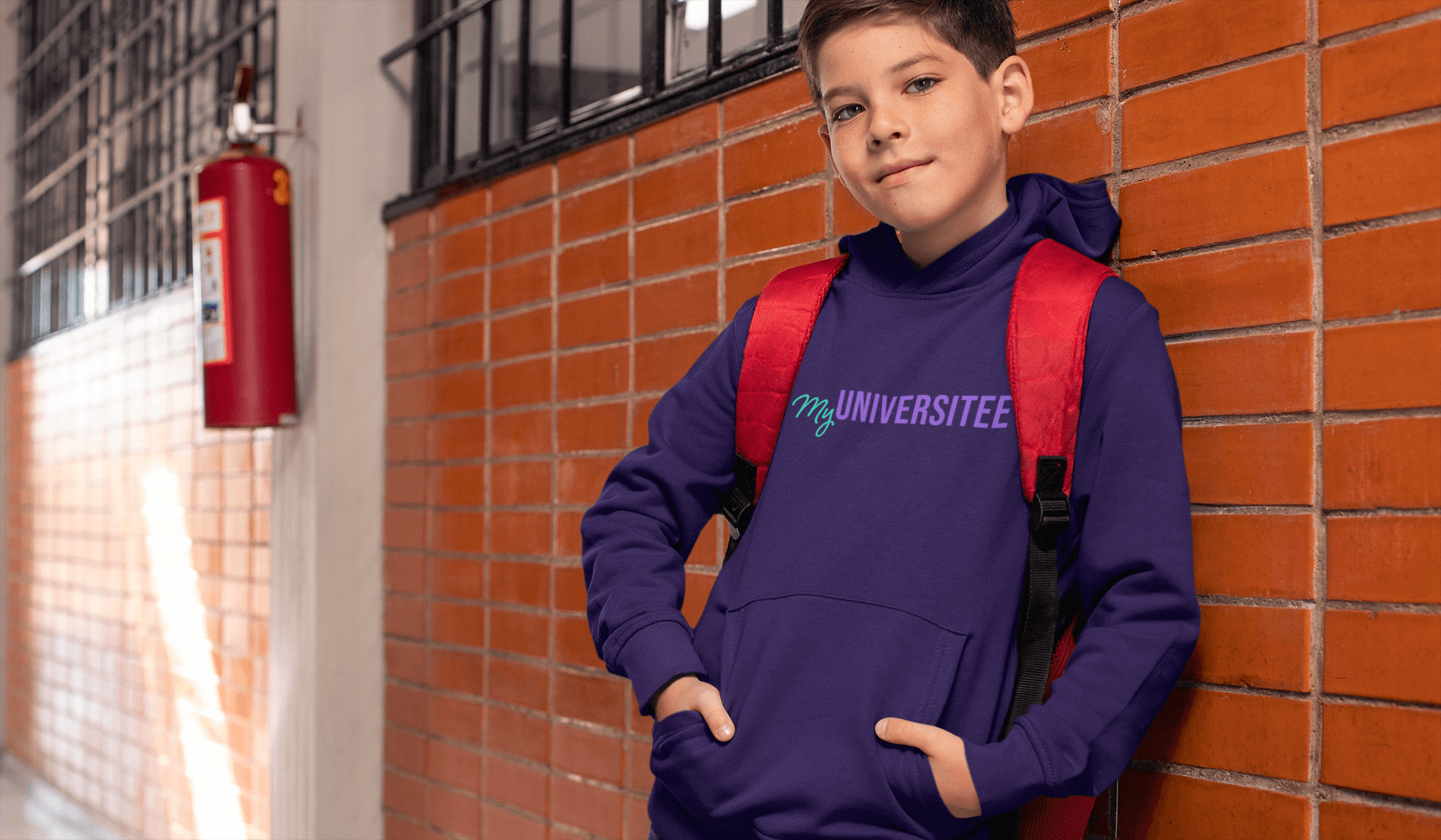 mockup-of-a-young-student-wearing-a-hoodie-at-school-24836